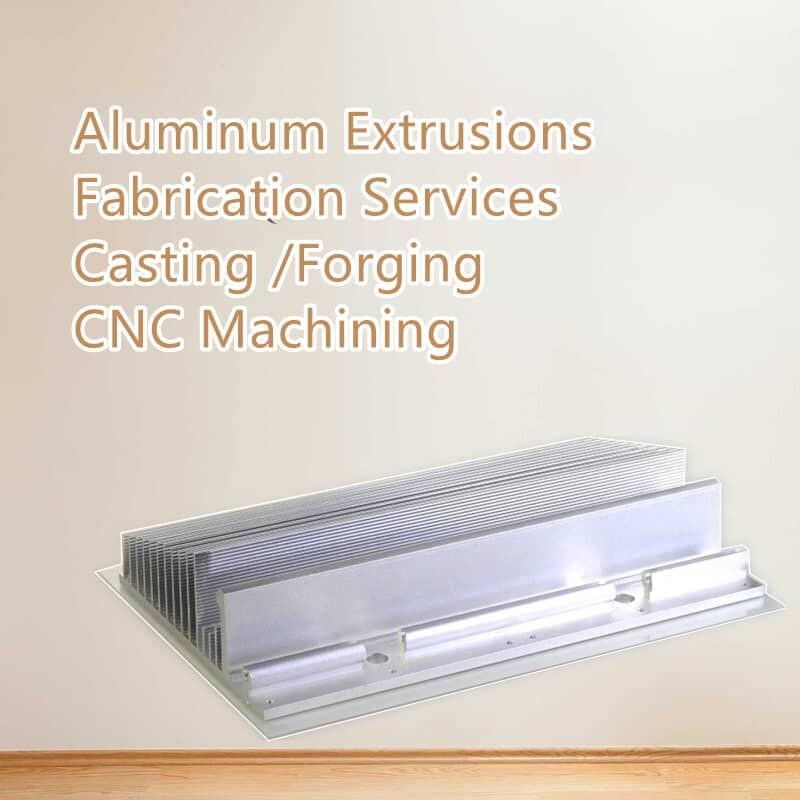 Las extrusiones de aluminio