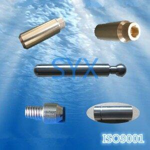 hierro cobre torno CNC