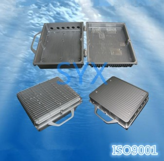 Communication die casting case