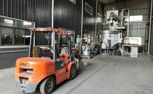 horno de fundición a presión de aluminio