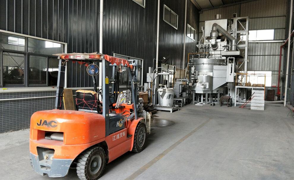 aluminium die casting furnace