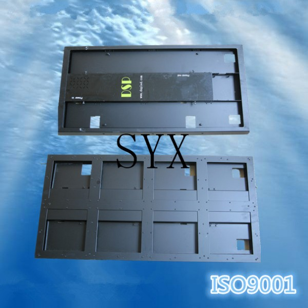aluminium stamping led display canbinet