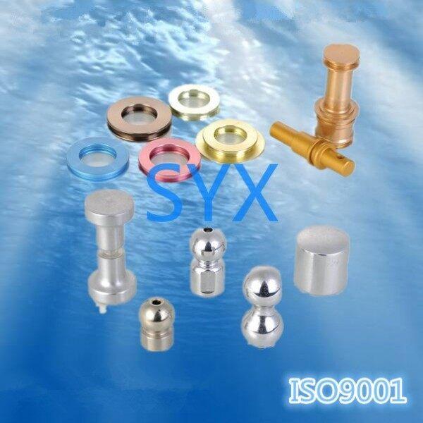 torno CNC de aluminio anodizado 1