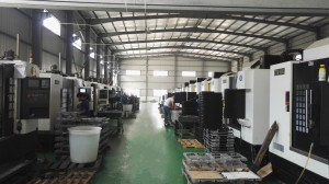 taller de mecanizado CNC