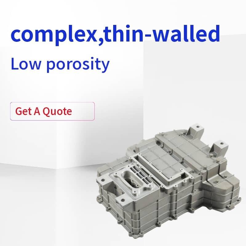 low porosity die casting part