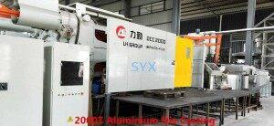 2000T aluminium die casting dongguan china
