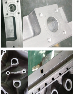 Aluminum die casting defects--gas porosity