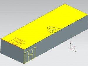 3D drawing die casting