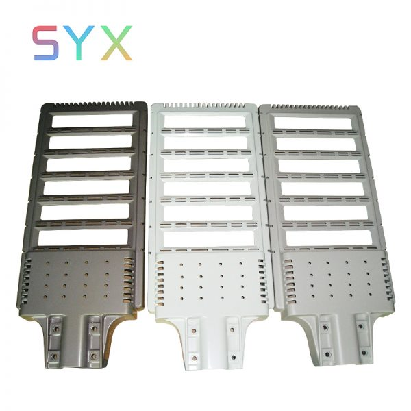 powder coating die casting light housing