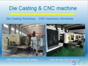 Stage Die-Casting Display Cabinet
