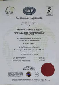 ISO 9001 Certificated