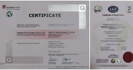 TS16949-iso9001 die casting company
